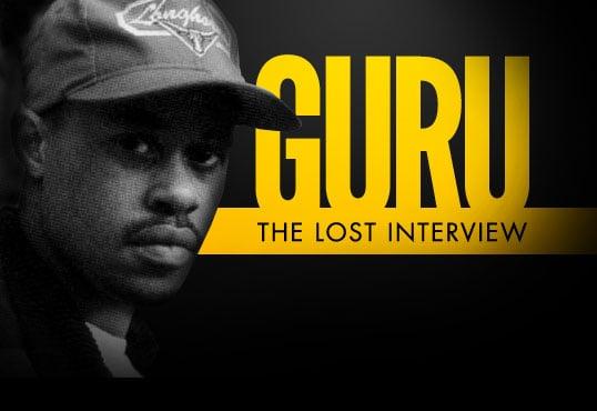 Lost 1991 Guru/Gang Starr Interview