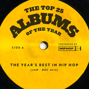 HipHopDX's Top 25 Albums of 2010 | HipHopDX