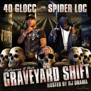 "Obie Trice, Kurupt Featured On 40 Glocc & Spider Loc's ""Graveyard Shift"" Album"