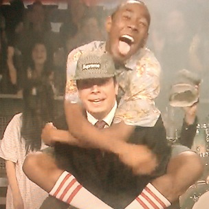 Odd Future With A Stirring Performance On Jimmy Fallon