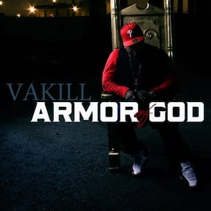 "Tracklisting & Cover Art Revealed To Vakill's ""Armor Of God"""