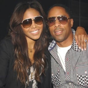 Amerie & Manager Lenny Nicholson Marry