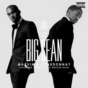 "Cover Art Revealed For Big Sean & Kanye West's ""Marvin Gaye & Chardonnay"""
