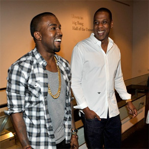 "Jay-Z & Kanye West Debut ""Watch The Throne"" At New York City's Hayden Planetarium"