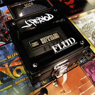 """J. Period & Flud Release Collector's """"Mixtapes Are Not A Crime"""" USB Jump Drive"""