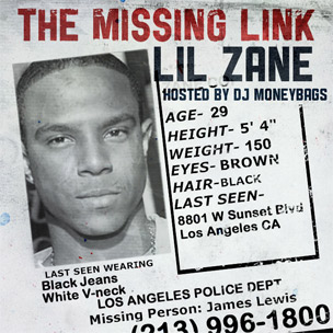 "Lil Zane Returns With New Mixtape ""The Missing Link"""