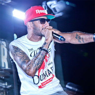 Swizz Beatz & Chris Brown Perform At Reebok & Complex's Reethym Of Lite Event