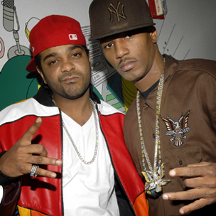 Dipset Performs Live At Best Buy Theater In New York City, New York