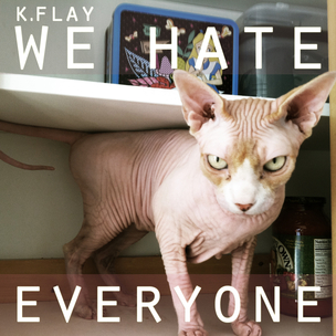 "K. Flay Debuts New Song ""We Hate Everyone,"" Preps ""Eyes Shut"" EP"