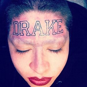 Drake Speaks On Fan's Forehead Tattoo Of His Name
