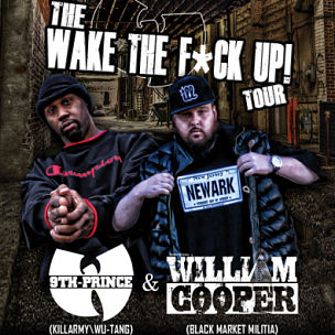 "9th Prince & William Cooper Announce ""Wake The F*ck Up!"" Tour"