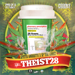 "Curren$y & Styles P ""#The1st28"" Mixtape Cover Art Revealed"