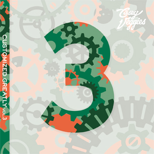 "Casey Veggies ""Customized Greatly Vol. 3"" Cover Art, Tracklist"