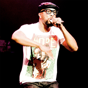 Common Delivers Freestyle At Ohio State University