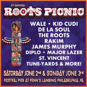 Rakim To Perform With The Roots At 5th Annual Roots Picnic