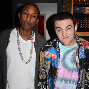 "Pharrell Williams Says He Recorded 10 Songs With Mac Miller For ""Pink Slime"""