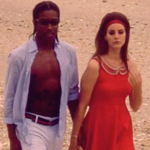 "A$AP Rocky Plays JFK In Lana Del Rey's ""National Anthem"" Music Video Preview"
