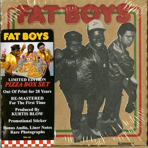 The Fat Boys' Debut Album To Be Reissued In Pizza Box Packaging