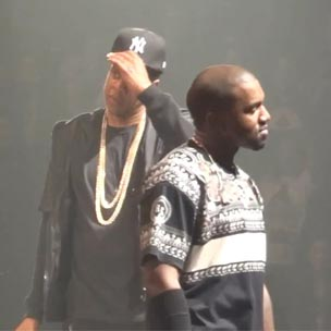 """Jay-Z & Kanye West Perform """"Ni**as In Paris"""" Eleven Times In Paris, France"""