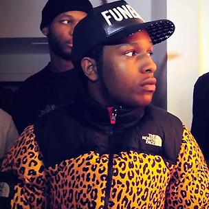 "A$AP Rocky Responds To SpaceGhostPurrp, Says ""Fuck Him"""