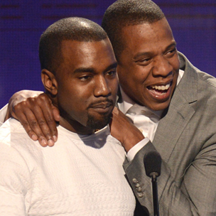 Jay-Z, Kanye West & Big Sean Win At BET Awards 2012