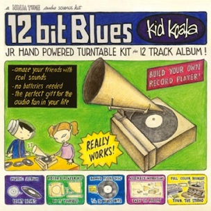 "Deltron 3030's Kid Koala To Release ""12 Bit Blues,"" Packaging Includes Hand-Powered Turntable"