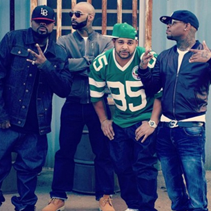 "Slaughterhouse ""On The House"" Mixtape Cover Art"
