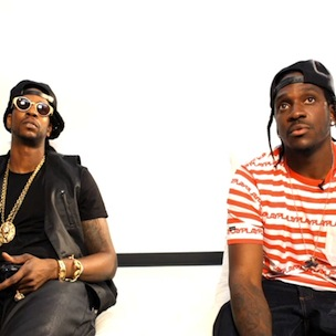 "2 Chainz & Pusha T Help Unveil ""Madden 13"" In Head-To-Head Game"