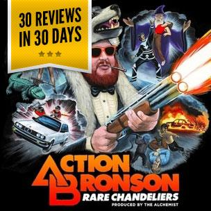 Action Bronson & Alchemist - Rare Chandeliers (Mixtape Review)