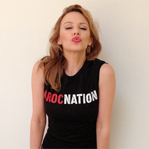 Jay-Z Signs Pop Singer Kylie Minogue To Roc Nation