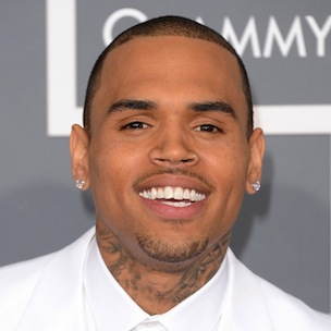 Chris Brown Fined For Art Work Outside His House