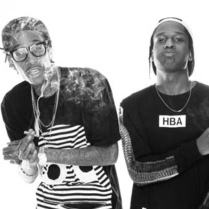 "Wiz Khalifa & A$AP Rocky Reveal Additional ""Under The Influence"" Tour Details"