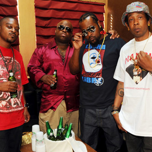 "Goodie Mob Premiers Portion Of ""Age Against The Machine"" Cover Art, ""Pinstripes"" Single"