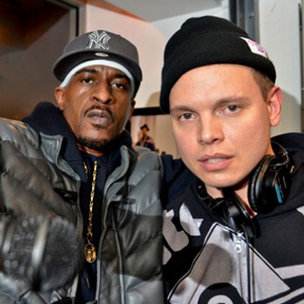 Rakim Says He's Working With Aaron LaCrate On New Material
