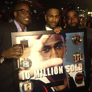 Big Sean Presented With Award For Selling 10 Million Singles