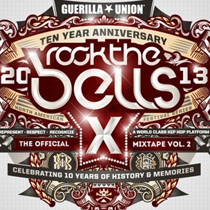"Guerilla Union & HipHopDX ""The Official Rock the Bells Mixtape Volume II"" Stream"