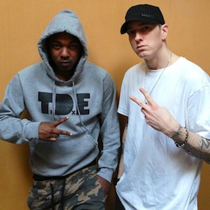 Kendrick Lamar Says He Has Not Recorded In Studio With Eminem