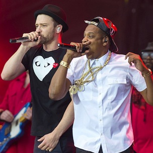 "Jay Z & Justin Timberlake Premiere Video For ""Holy Grail"" On Facebook"