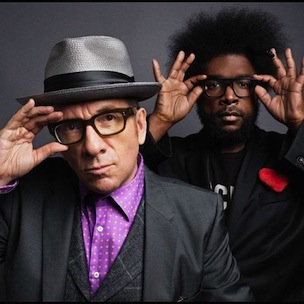 "The Roots & Elvis Costello's ""Walk Us Uptown"" Crack Pepsi's ""Top Backyard Party Songs"" List"