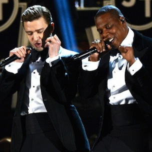 """Jay-Z & Justin Timberlake Are Filming """"Holy Grail"""" Video"""