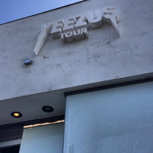"""Kanye West """"Yeezus Tour"""" Pop Up Shop Opens In Los Angeles"""