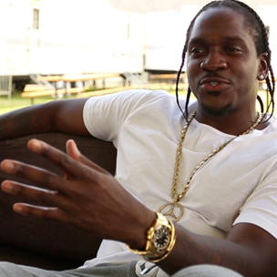 """Pusha T Describes Himself As """"A Conscious Dopeboy"""" & Applauds Wale"""