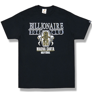 "Jay Z Teams With Pharrell's Billionaire Boys Club For ""Magna Carta Holy Grail"" T-Shirts"