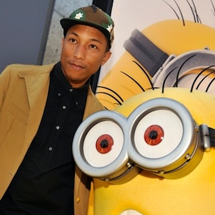 Pharrell Earns Academy Awards Nomination