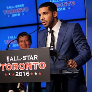 "NBA's Toronto Raptors To Host ""Drake Night"""