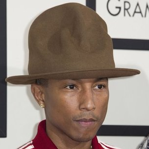 Pharrell Discusses Grammy Hat & Updates Chad Hugo's Production Work