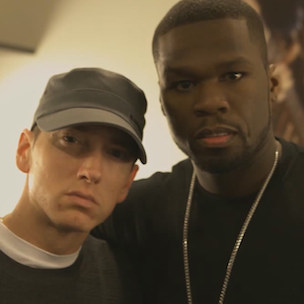 "Eminem & 50 Cent Discuss Making Of ""Patiently Waiting"""