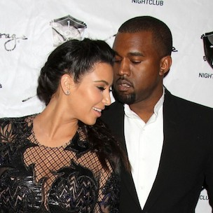 """Kanye West & Kim Kardashian Cover """"Vogue"""" April 2014 Issue; Photos Released"""