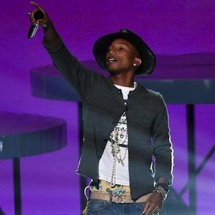Pharrell Performs For Congregation Of South Carolina Church Shooting