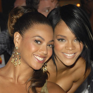Beyonce Instagrams Rihanna Photograph Following Rumors That Solange Knowles' Jay Z Attack Was Rihanna-Related